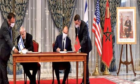 Les États-Unis s'engagent à œuvrer avec le Maroc et Israël pour un «avenir plus pacifique, plus sûr et plus prospère» au Moyen-Orient