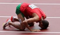 Sadiqui a assuré sa qualification en terminant 5e de la 1ère série des qualifications en 3 min 36 sec 23. Ph : AFP