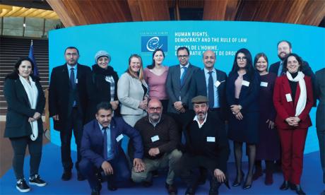 Février 2020 : Visite à Strasbourg de représentants issus du comité de suivi de la mise en œuvre du Plan d'Action National en matière de Démocratie et des Droits de l'Homme (PANDDH), piloté par le Ministère des Droits de l'Homme.
