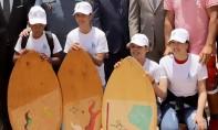 La plage de Foum El Oued a été distinguée parmi une liste de 27 plages au niveau national, qui connaît cette année l'organisation de plusieurs activités de sensibilisation contre la pandémie du Covid-19. Ph : MAP-Archives