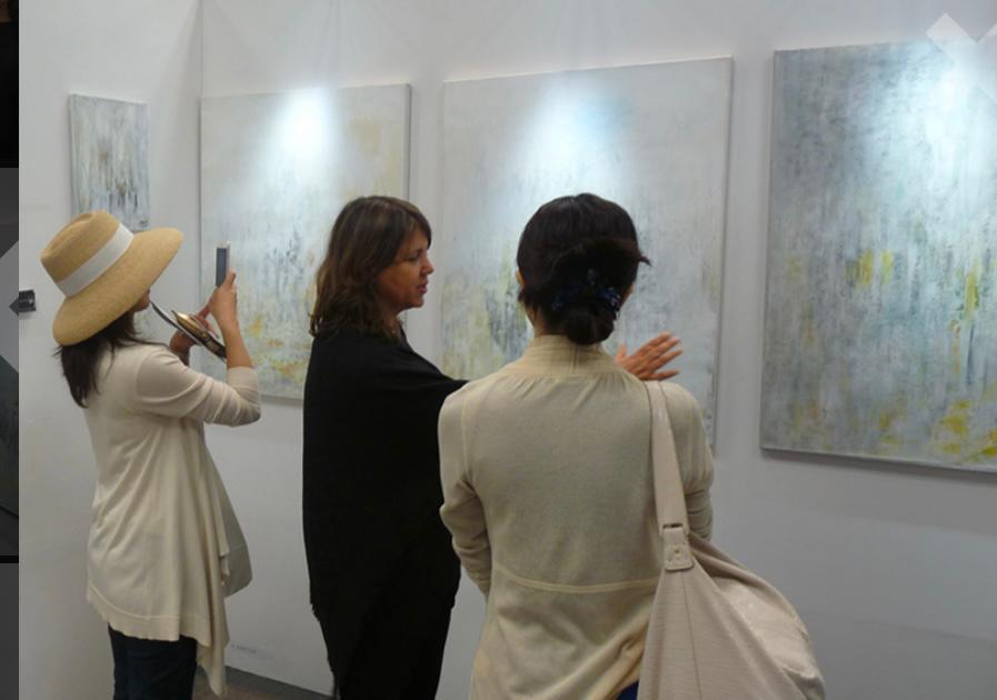 Hayat Saïdi participe à «L'art refait surface» en Italie