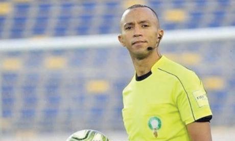 Mustapha Al Kachaf, arbitre du match AS FAR-RS Berkane comptant pour la troisième journée.