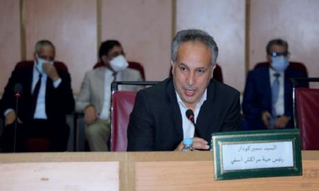 Samir Goudar du PAM succède à Ahmed Akhchichen à la tête du Conseil  de la région de Marrakech-Safi