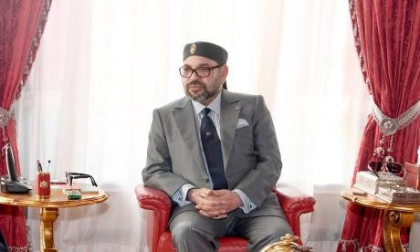 Message de condoléances de S.M. le Roi au chef de l'Etat algérien suite au décès de l'ex-président Abdelkader Bensalah