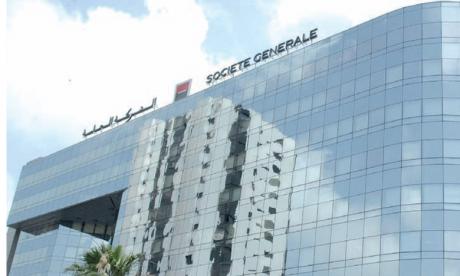 Le PNB de Société Générale Maroc s'est stabilisé à 2,53 milliards de DH à fin juin 2021 sur un an.