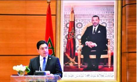 Nasser Bourita met en avant les projets énergétiques d'envergure menés sous le  leadership de Sa Majesté le Roi
