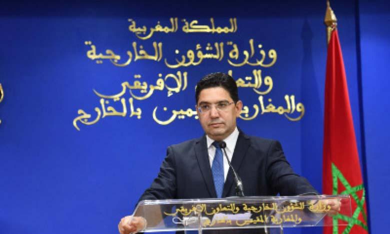 Nasser Bourita : «Pour le Maroc, le multilatéralisme de solidarité est une doctrine découlant de la vision de S.M. le Roi»
