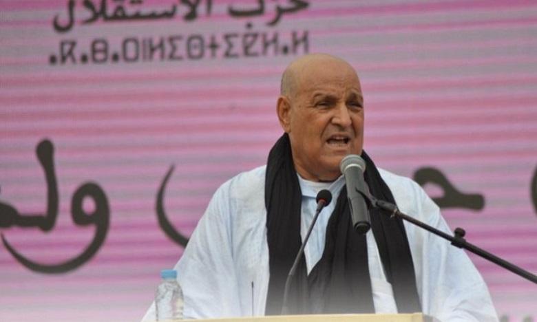 Moulay Hamdi Ould Errachid du PI réélu président du conseil municipal de Laâyoune