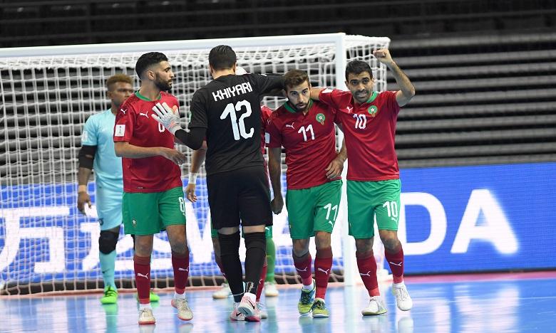 Mondial de Futsal : Le Maroc se qualifie pour les huitièmes de finale