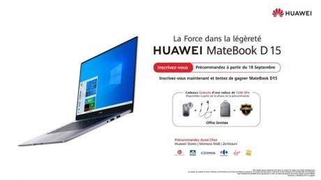 HUAWEI lance le MateBook D15 au Maroc