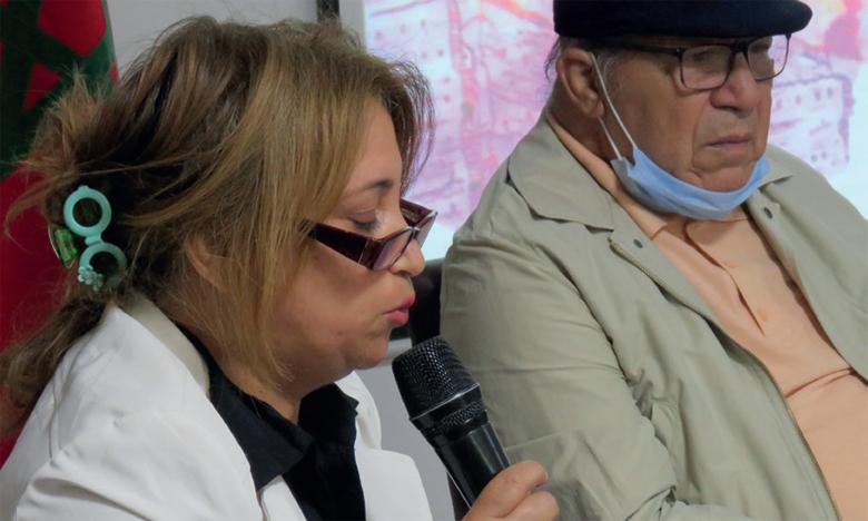 La poétesse et écrivaine Fatiha Nouhou lors de son  intervention à cette rencontre.