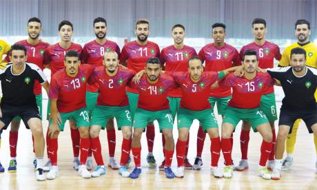 La sélection nationale de futsal aborde la dernière ligne droite de sa préparation avant le coup d'envoi du Mondial.