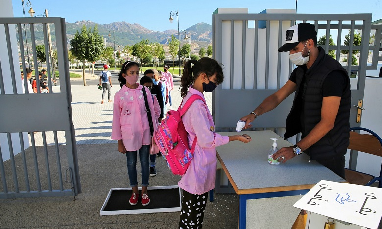 Les écoles prêtes pour le retour des élèves, les parents espèrent un bon déroulement de l'année