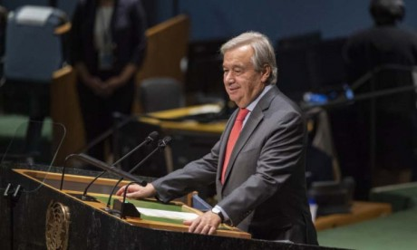 Antonio Guterres déplore les «divisions géopolitiques»  qui sapent les efforts de développement