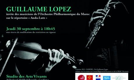 L'OPM est invité par le quartet «Anda-Lutz»  pour un concert original à Casablanca
