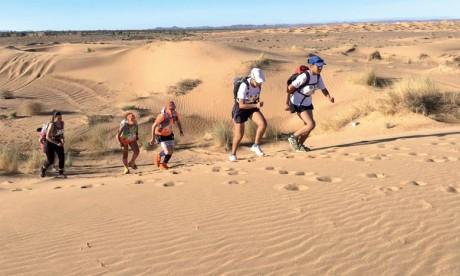 Après deux ans de report, le  Marathon des sables revient pour une  35e édition