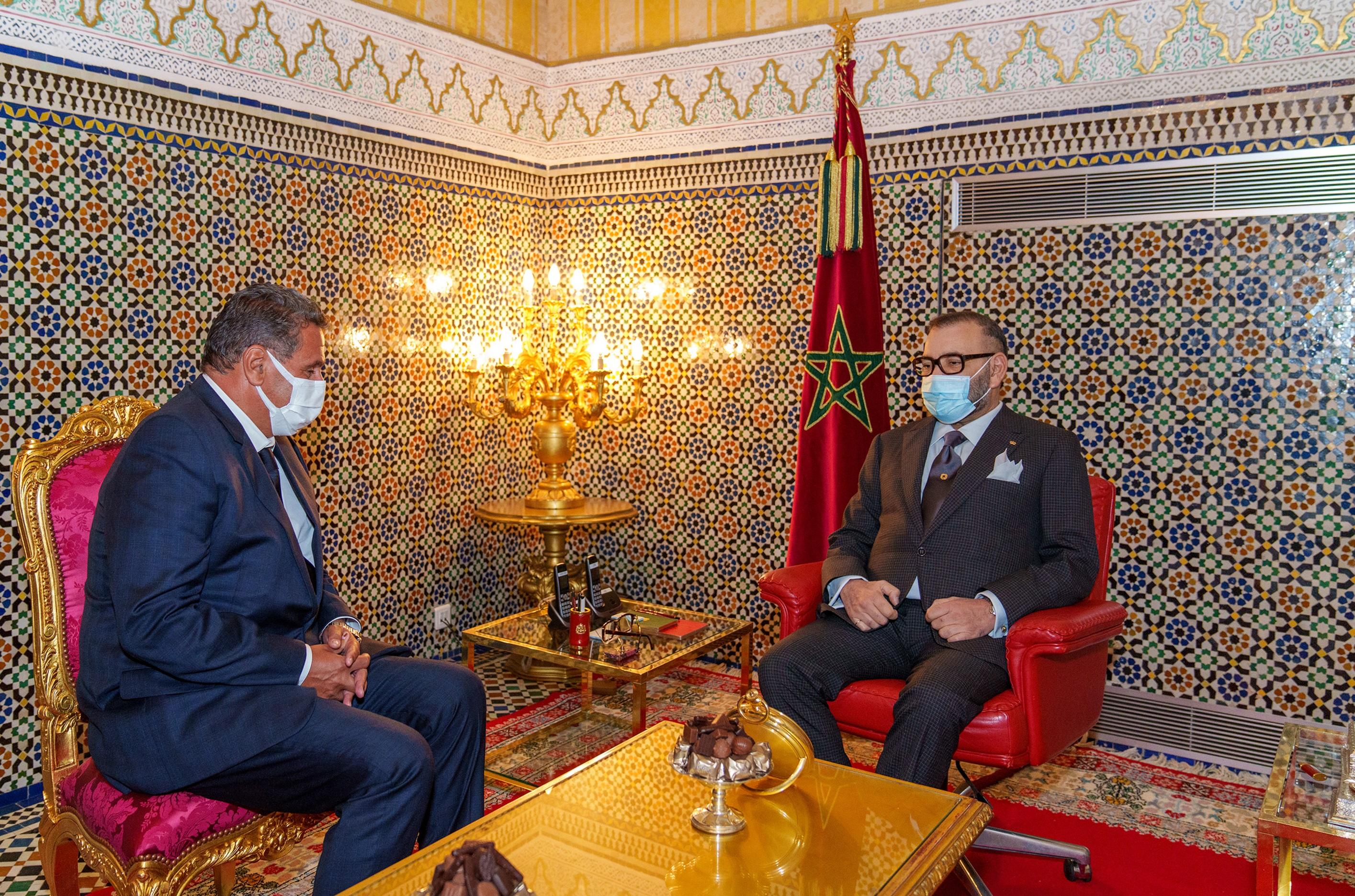 S.M. le Roi nomme Aziz Akhannouch chef du gouvernement et le charge de former l'exécutif