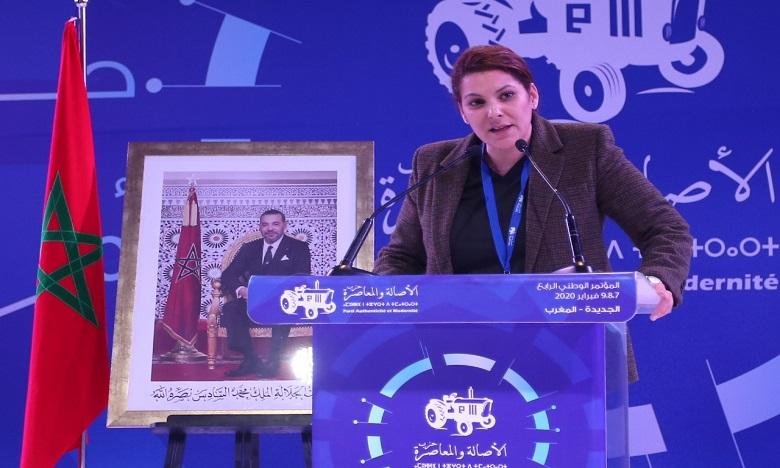 Fatima-Zahra Mansouri élue présidente du Conseil communal de Marrakech