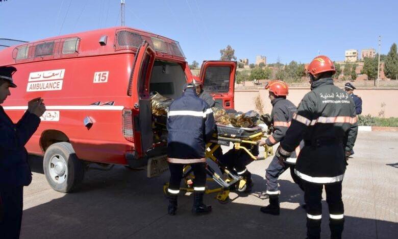 Les dépouilles ont été transférées à la morgue de l'hôpital régional Hassan II de Dakhla. Ph : Archives