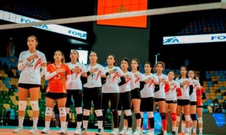 Championnat d'Afrique de volleyball dames : les volleyeuses marocaines échouent en demi-finale