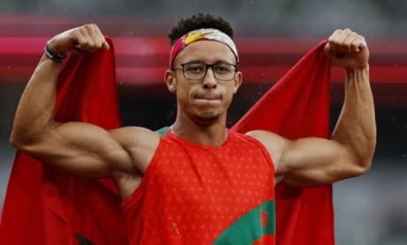 En plus d'avoir ajouté un titre olympique à son palmarès, Abdeslam Hili a amélioré son record du monde.