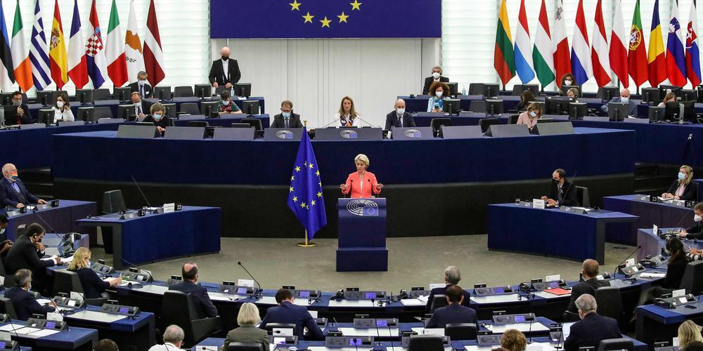 """""""L'HERA est un nouveau pilier d'une union de la santé plus forte et une avancée majeure pour notre préparation aux crises"""", a déclaré la présidente de la Commission européenne, Ursula von der Leyen. Ph : AFP"""