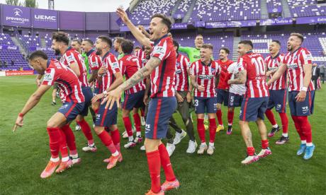 La course à la succession de l'Atletico Madrid est bien lancée.Ph. LaLiga