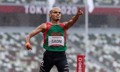 Jeux paralympiques (400 m/T47): Le Marocain Ayoub Sadni se qualifie pour la finale
