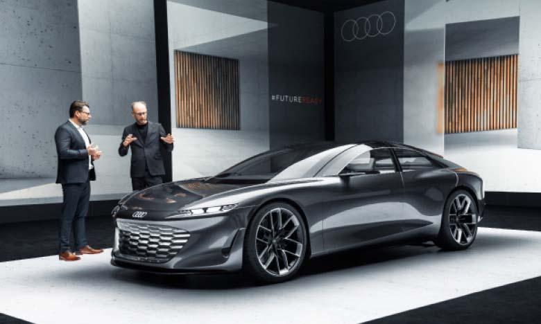 Audi dévoile sa vision du grand luxe électrique