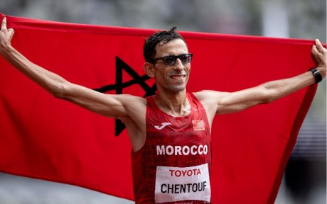 Jeux paralympiques (Marathon/T12): El Amin Chentouf offre la 4è médaille d'or au Maroc