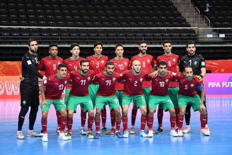 Mondial de futsal : Victoire historique du Maroc contre les Iles Salomon