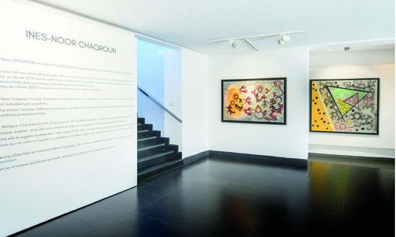 """Ines-Noor Chaqroun, artiste-peintre : «Mon exposition """"INC""""   est le fruit d'années de recherches, de découvertes et de travail acharné»"""