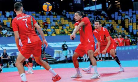 Volleyball : Le Maroc affronte le Cameroun pour une place en finale