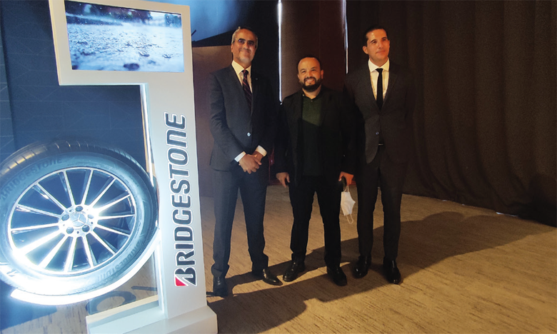 Le nouveau pneu Potenza Sport sera disponible auprès des 1.000 revendeurs et spécialistes en pneumatique à travers le Maghreb. Ph. Hicham Seddik