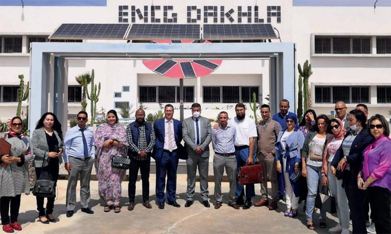 Signature d'une convention entre l'ENCG de Dakhla  et l'ENCG de Casablanca