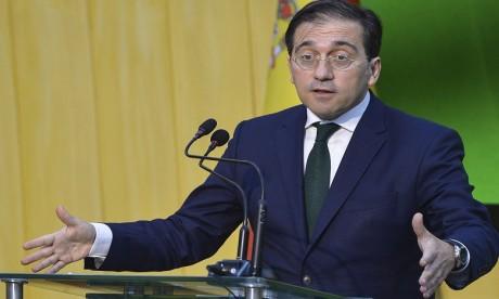 José Manuel Albares, ministre espagnol des Affaires étrangères