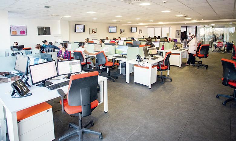 Sur un total de 7.360 postes ouverts en septembre 2021, les métiers du Call Center représentent la plus grande part avec 68%.