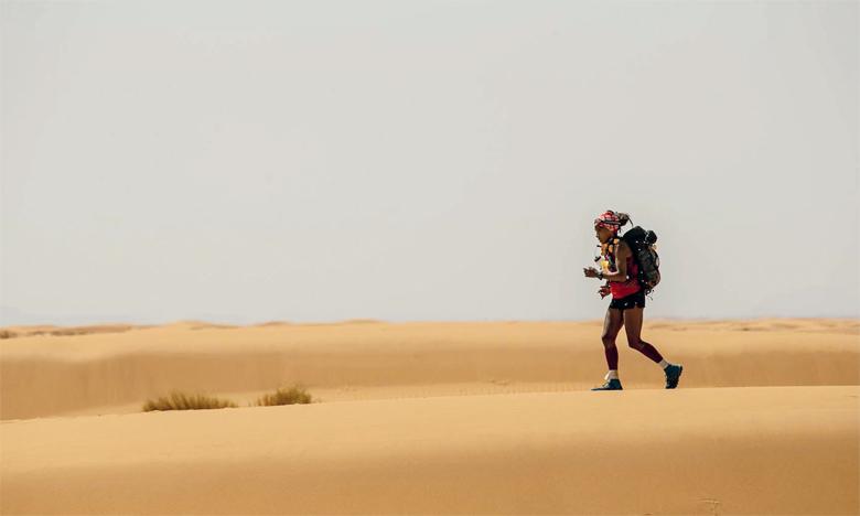 La deuxième étape s'est disputée sur les célèbres dunes de Merzouga, les plus hautes du Maroc.