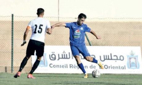 Le promu l'Union sportive musulmane d'Oujda a concédé le nul face au Stade marocain.