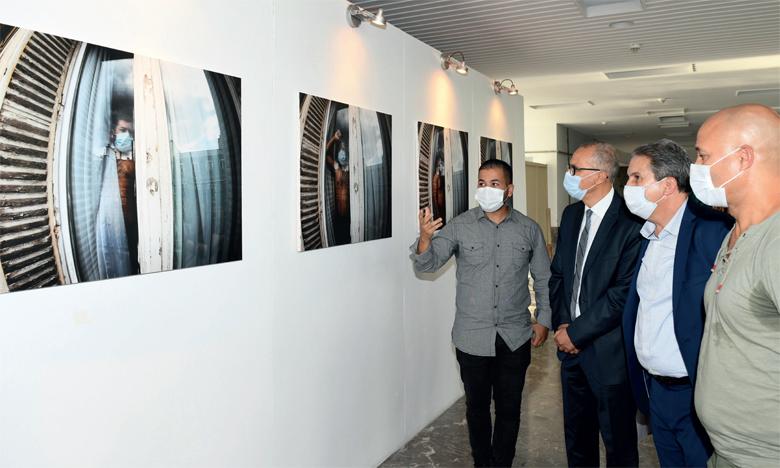 Inauguration de l'exposition de photos de Mehimdate.