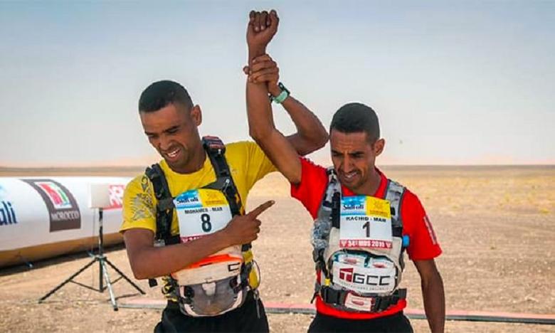 Rachid El Morabity (à gauche) et son frère cadet Mohammed.