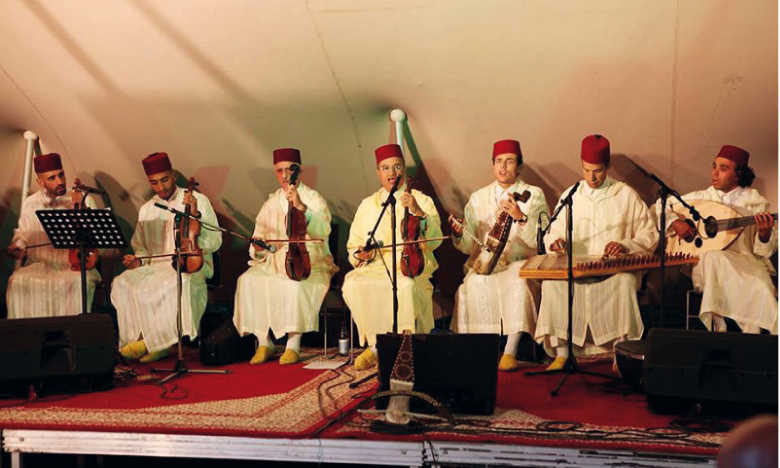 Orchestre de musique andalouse.