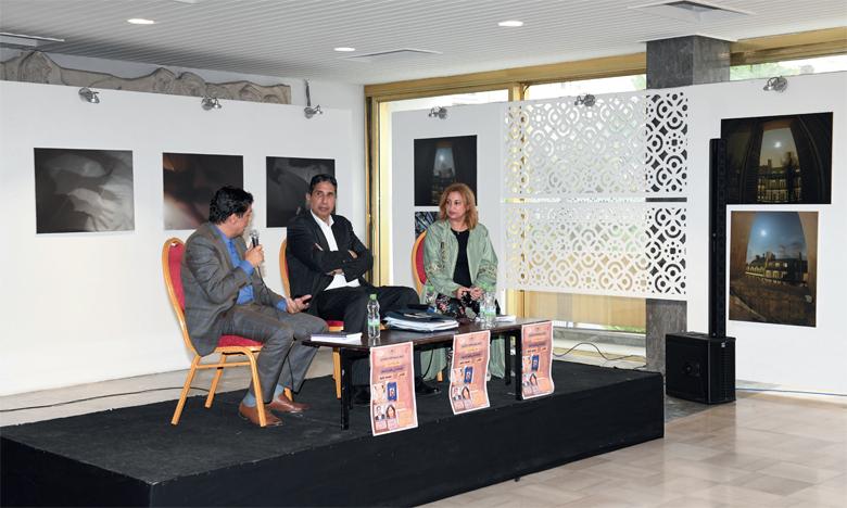 Présentation du recueil de Belmou avec Mohamed Chiguer et Fatiha Nouhou.