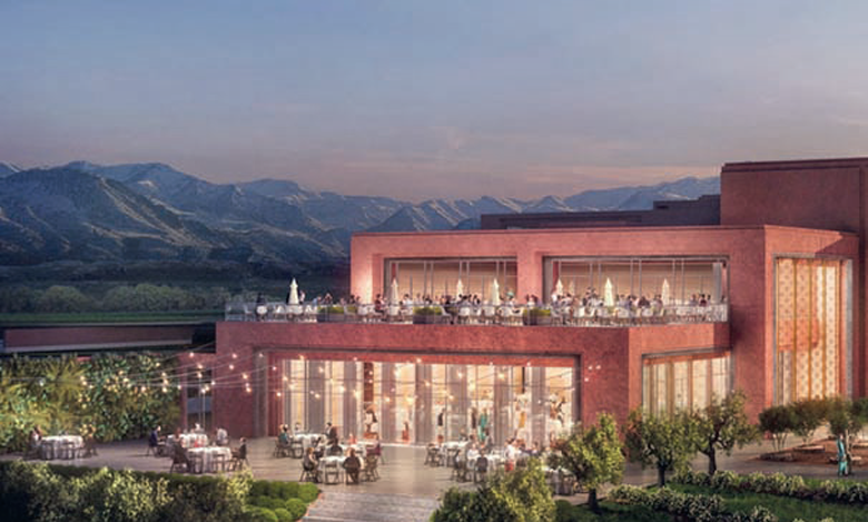 Vingt-neuf hôtels et resorts Marriott internationl sont en projet actuellement.