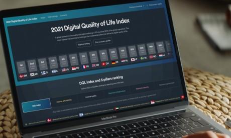 Qualité de vie numérique : Le Maroc à la traîne selon le Digital Quality of Life Index 2021