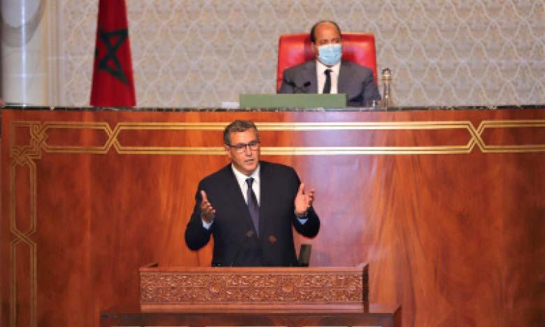 Le chef du gouvernement, Aziz Akhannouch.