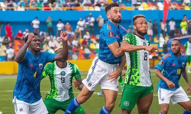 Le Nigeria a renversé le Cap-Vert lors de la deuxième journée.