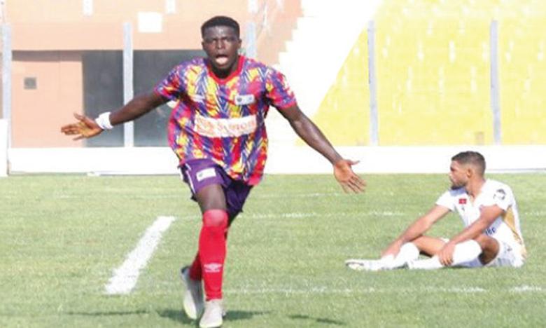 Auteur du but de la victoire des Hearts of Oak à Accra, Isaac Mensah pourrait donner du fil à retorde à la défense du WAC.