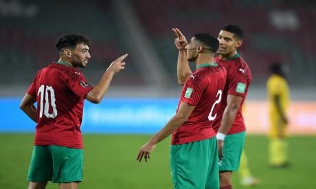 Eliminatoires du Mondial 2022 : Le Maroc surclasse la Guinée Bissau et prend la tête du groupe I