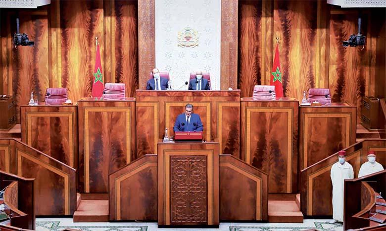 Le gouvernement Akhannouch officiellement investi par la Chambre des représentants
